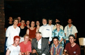 1997, Rapid Fire at Word is Out for 1997 Midsumma Festival. The fourth Rapid Fire included 12 young and  established writers, many of whom have gone on to forge their careers in the arts.